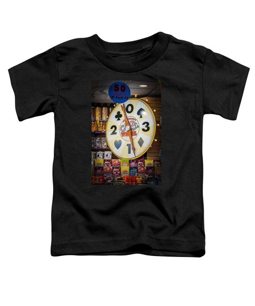 The Candy Wheel Point Pleasant Boardwalk Toddler T-Shirt