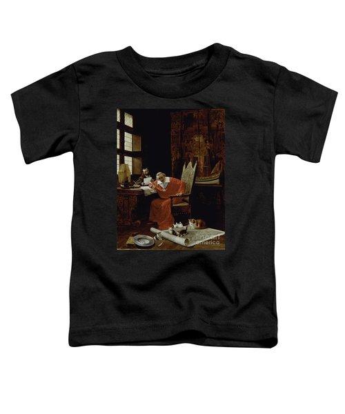 The Cardinal's Leisure  Toddler T-Shirt