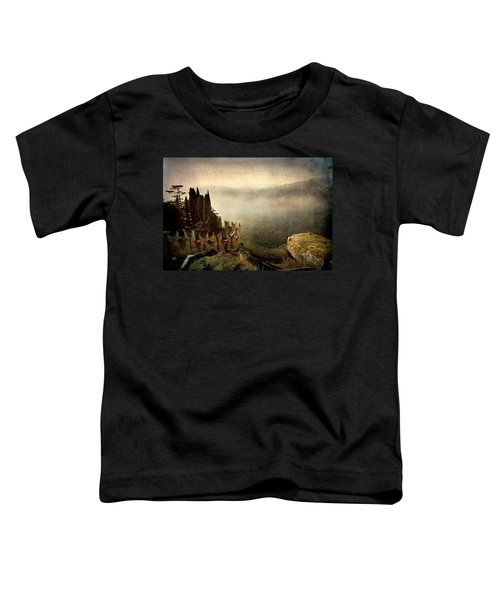 The Castle On The Lake. Malcesine Toddler T-Shirt