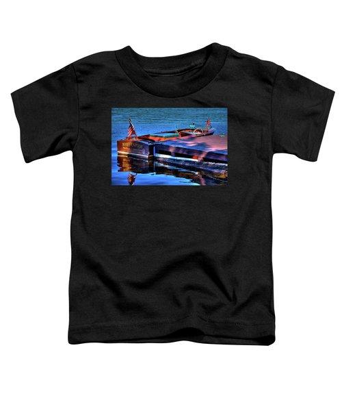 The Vintage 1958 Chris Craft Toddler T-Shirt