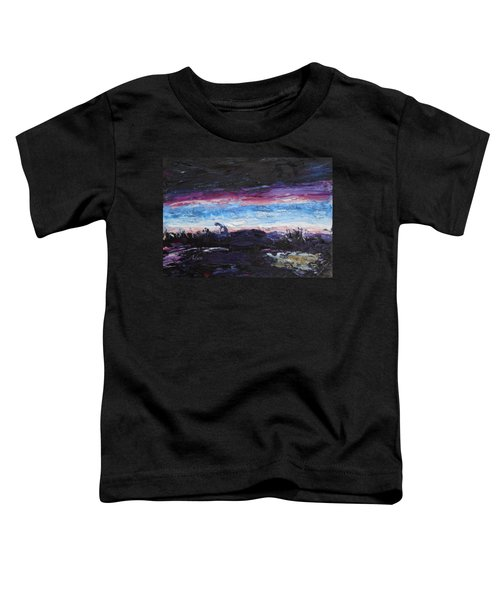 The Crack Of Time Toddler T-Shirt