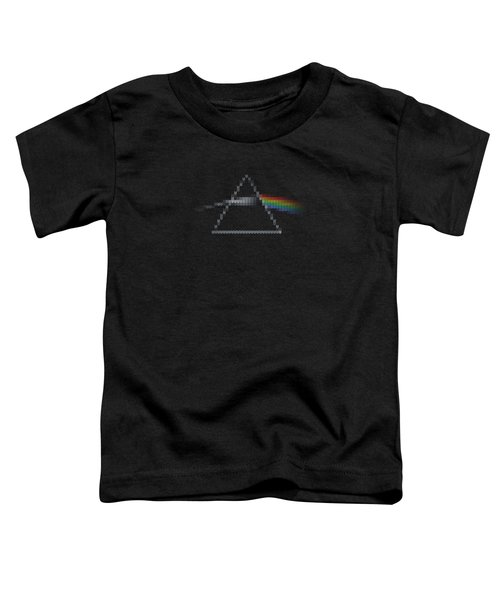 The Dark Side Of The Ugly Christmas Sweater Cool Dark Side Of The Moon Music Parody Toddler T-Shirt