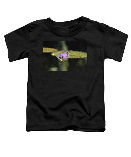 The Dragonfly And The Lily Toddler T-Shirt