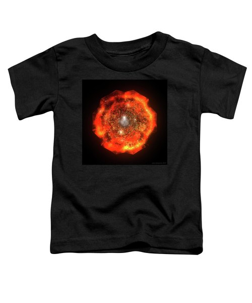 The Eye Of Cyma - Fire And Ice - Frame 146 Toddler T-Shirt