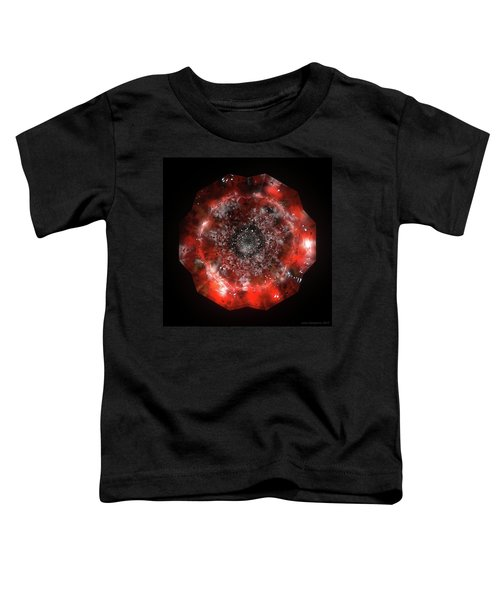 The Eye Of Cyma - Fire And Ice - Frame 49 Toddler T-Shirt