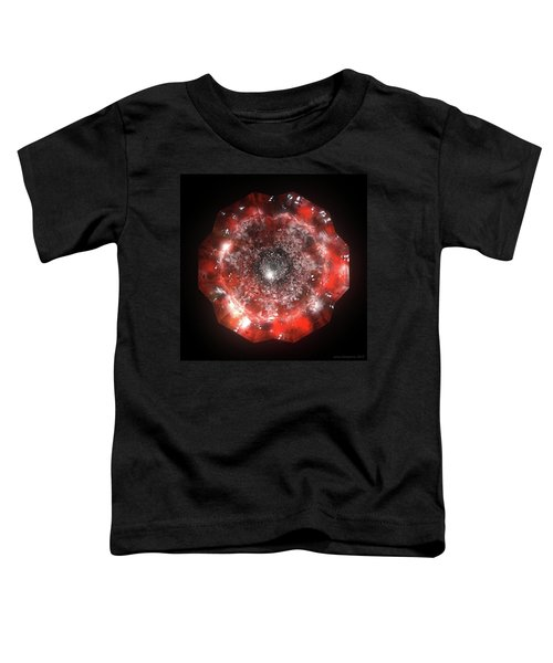 The Eye Of Cyma - Fire And Ice - Frame 50 Toddler T-Shirt