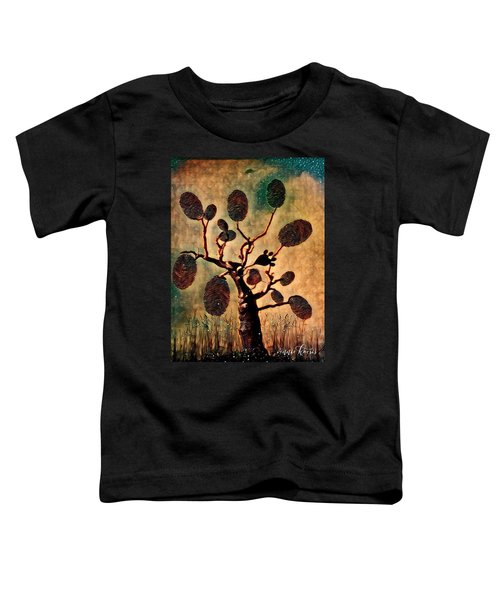 The Fingerprints Of Time Toddler T-Shirt