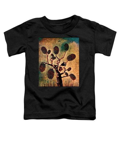 The Fingerprints Of Time Toddler T-Shirt