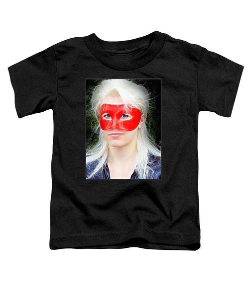 The Gaze Of A Heroine Toddler T-Shirt