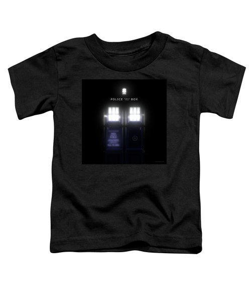The Glass Police Box Toddler T-Shirt