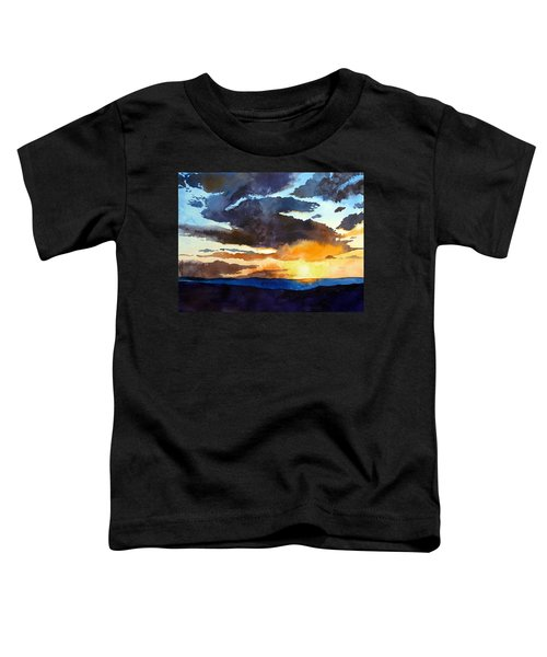 The Glory Of The Sunset Toddler T-Shirt