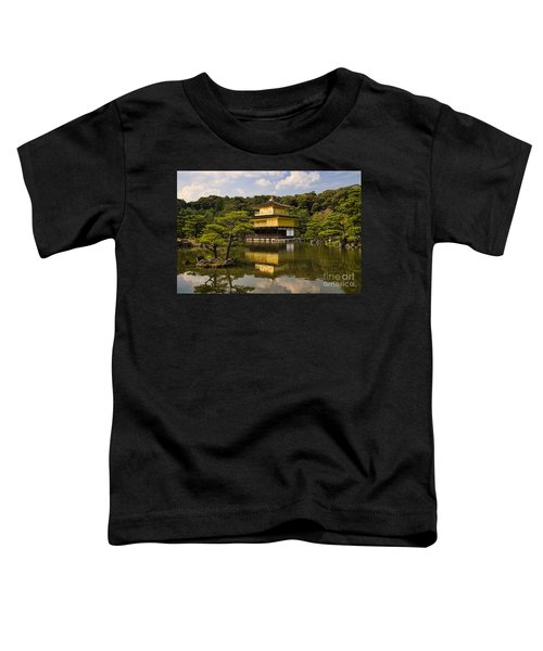 The Golden Pagoda In Kyoto Japan Toddler T-Shirt