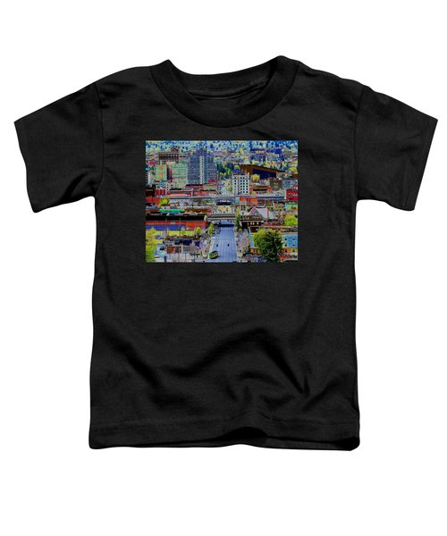 The Heart Of Downtown Spokane  Toddler T-Shirt