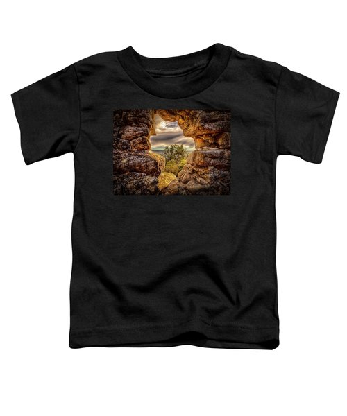 Toddler T-Shirt featuring the photograph The Hole In The Wall by Chris Cousins