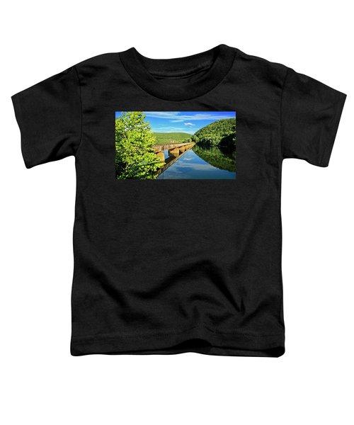 The James River Trestle Bridge, Va Toddler T-Shirt