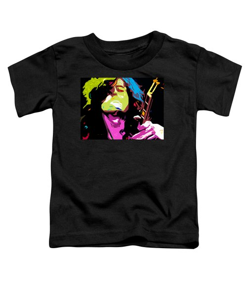 The Jimmy Page By Nixo Toddler T-Shirt by Nicholas Nixo