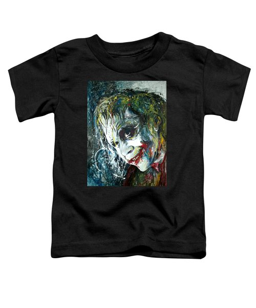 The Joker - Heath Ledger Toddler T-Shirt