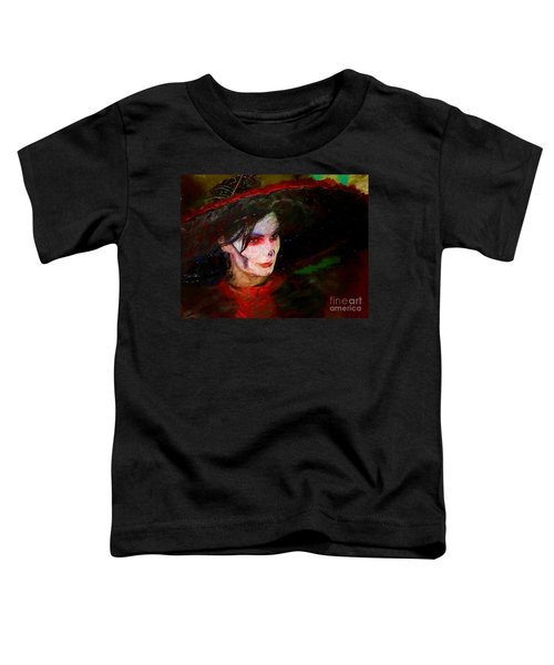 The Lady In Red Toddler T-Shirt