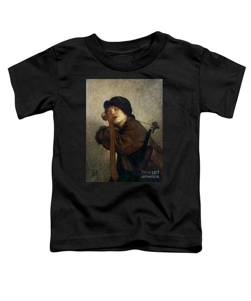 The Little Violinist Sleeping Toddler T-Shirt