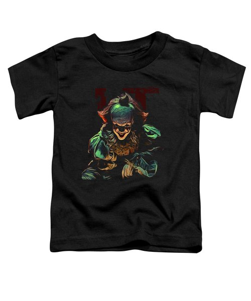 the Mighty Clown Toddler T-Shirt