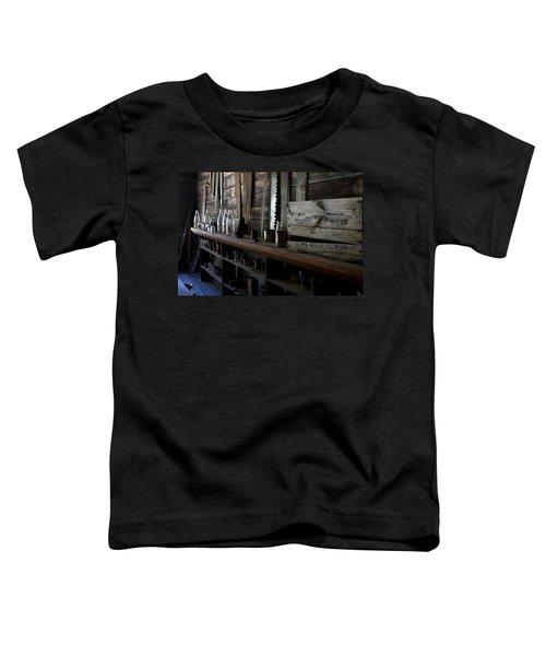 The Mishawaka Woolen Bar Toddler T-Shirt