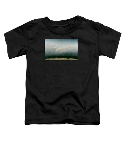 Monk By The Sea  Toddler T-Shirt