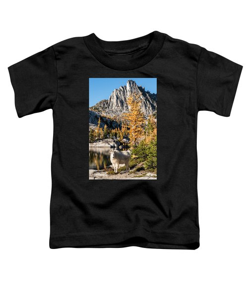 The Mountain Goat In The Enchantments Toddler T-Shirt