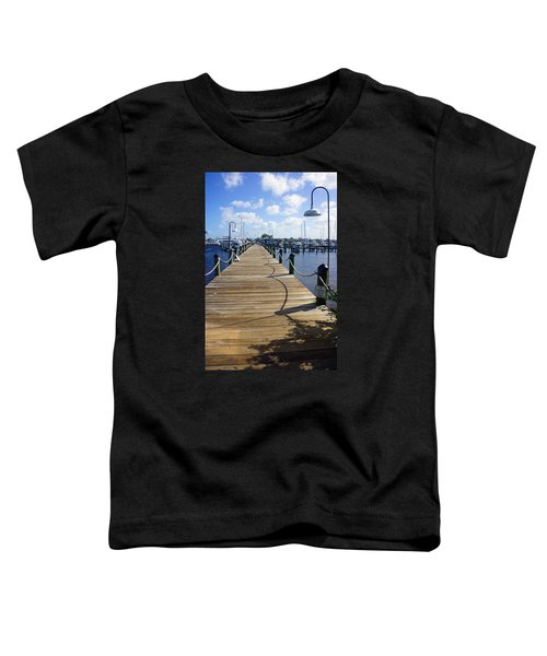 The Naples City Dock Toddler T-Shirt