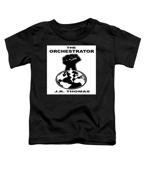 Toddler T-Shirt featuring the digital art The Orchestrator Cover by Jayvon Thomas