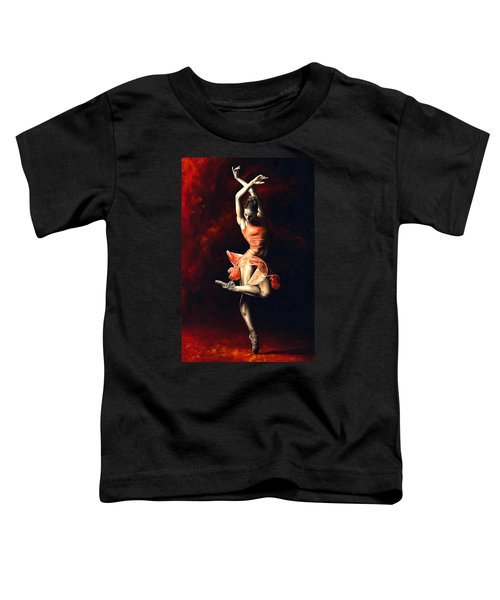 The Passion Of Dance Toddler T-Shirt
