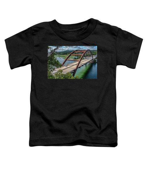 The Pennybacker Bridge Toddler T-Shirt