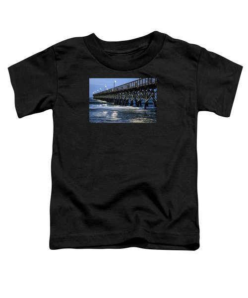 The Pier At The Break Of Dawn Toddler T-Shirt