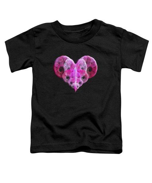 The Pink Heart Toddler T-Shirt