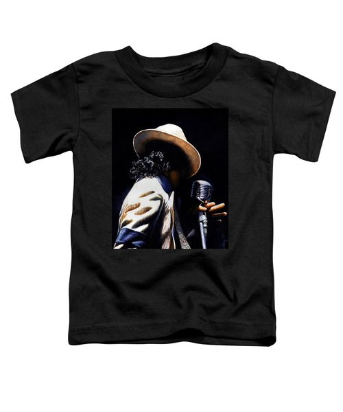 The Pop King Toddler T-Shirt by Emerico Imre Toth