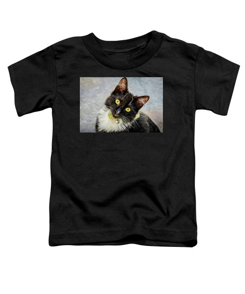 The Portrait Of A Cat Toddler T-Shirt