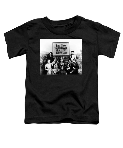 The Prohibition Temperance League 1920 Toddler T-Shirt