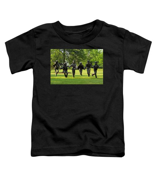 The Puddle Jumpers At Byers Choice Toddler T-Shirt