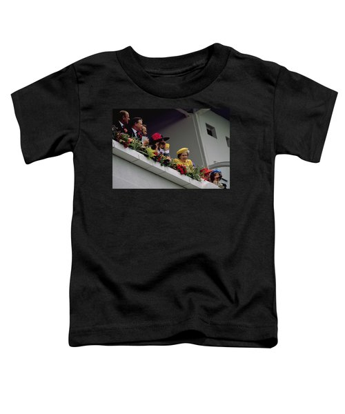 The Queen At Derby Day 1988 Toddler T-Shirt