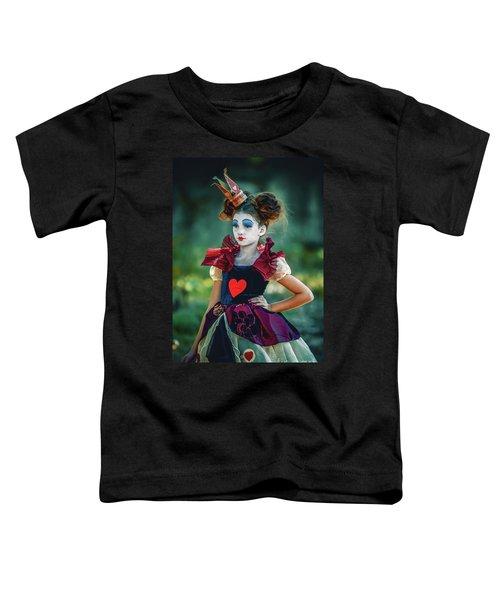 The Queen Of Hearts Alice In Wonderland Toddler T-Shirt