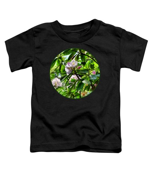 The Rhododendrons Are In Bloom Toddler T-Shirt