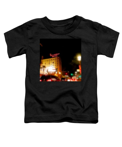 The Roosevelt Hotel By David Pucciarelli  Toddler T-Shirt