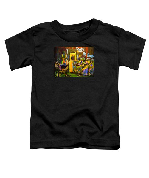 The Soggy Po Boys Toddler T-Shirt