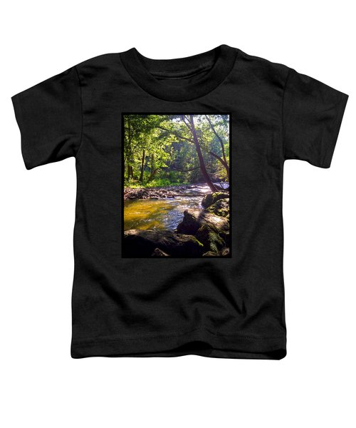 Toddler T-Shirt featuring the photograph The Stream by Shawn Dall
