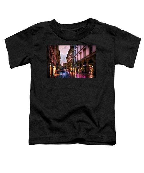 The Streets Of Florence Toddler T-Shirt