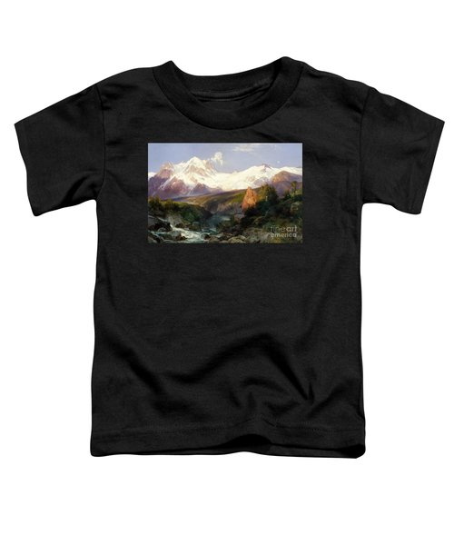 The Teton Range, 1897 Toddler T-Shirt
