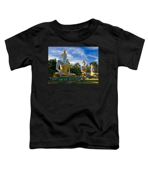 The Three Buddhas  Toddler T-Shirt