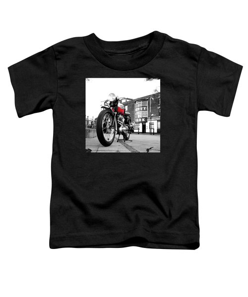 The Trophy Tr5 Motorcycle Toddler T-Shirt