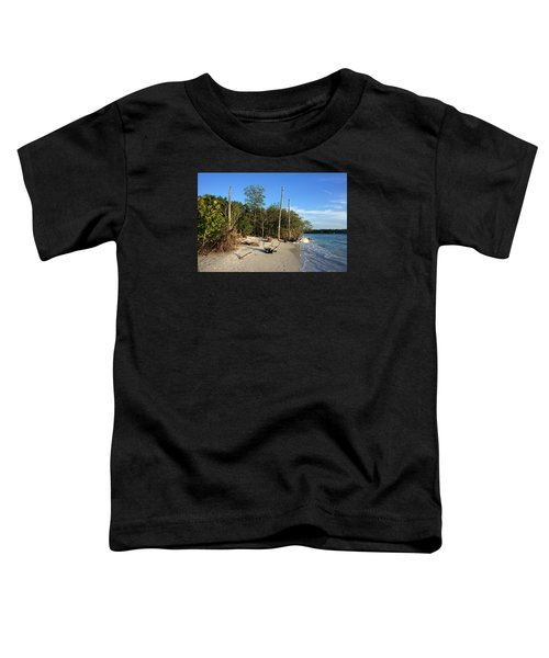 The Unspoiled Beauty Of Barefoot Beach In Naples - Landscape Toddler T-Shirt