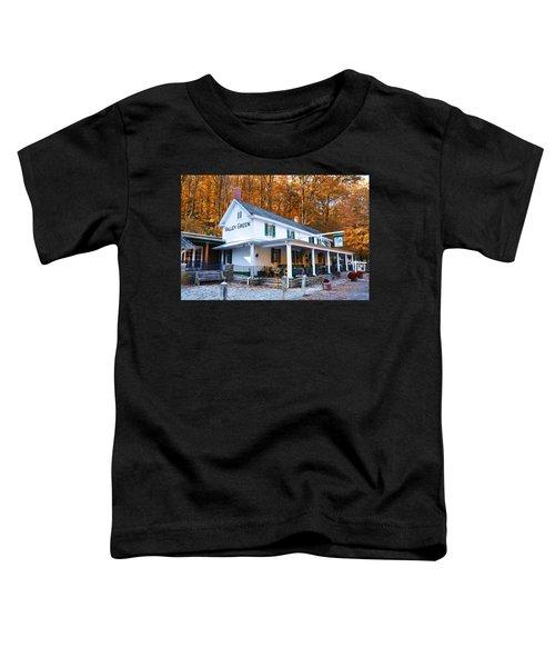 The Valley Green Inn In Autumn Toddler T-Shirt