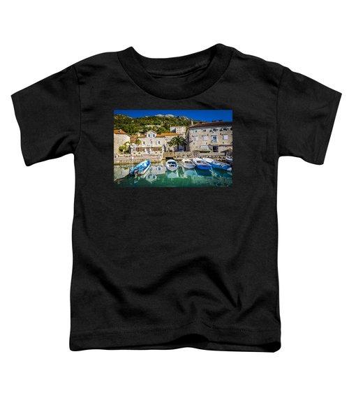 The Waiting Boats Toddler T-Shirt